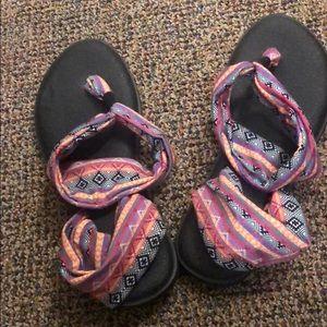 Sanuk Yoga Sling Sandal Size 10